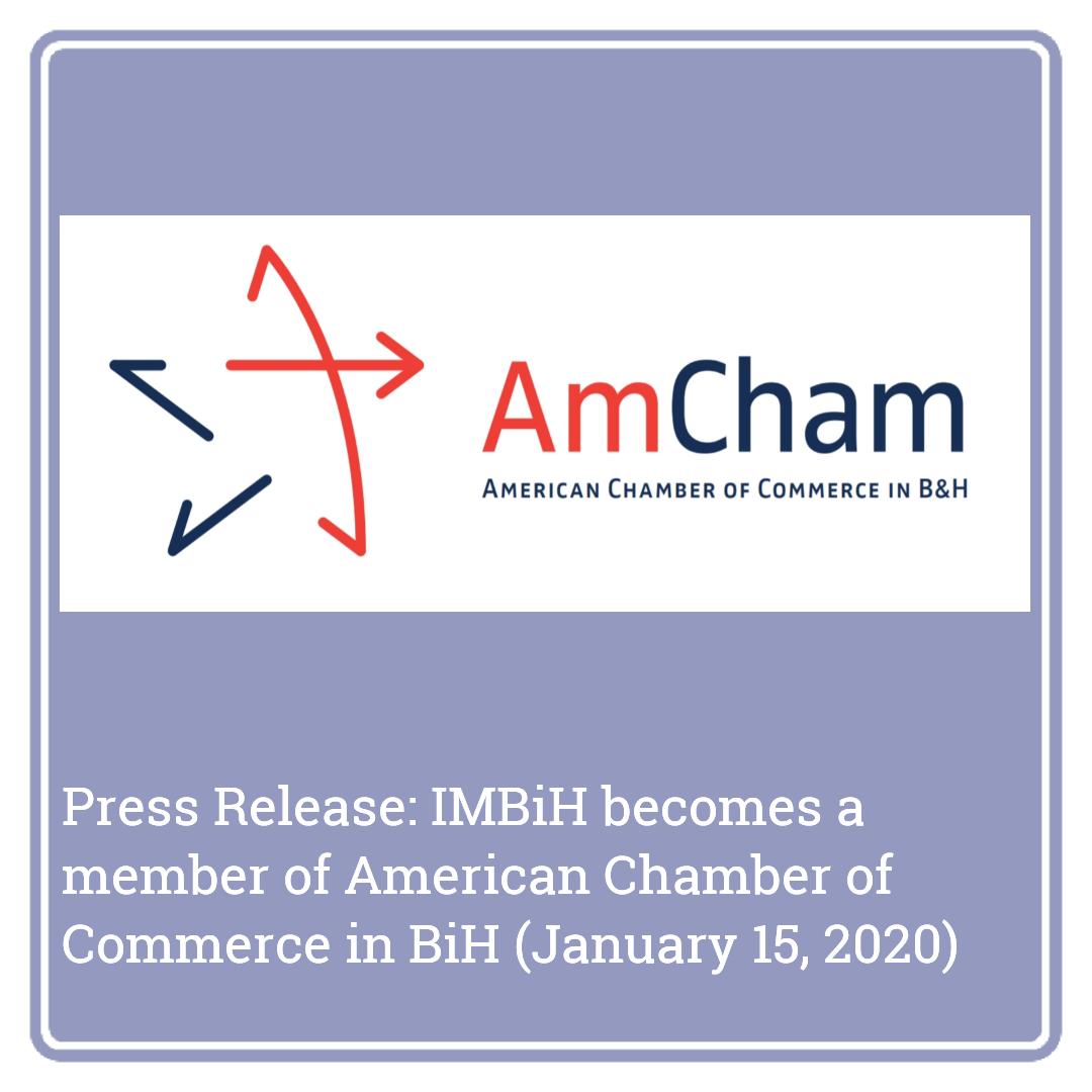 Press Release AmCham BiH
